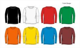 Calibre de T-shirt, vecteur Photos libres de droits
