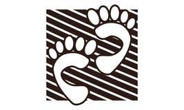 Calibre de Team Work Step Logo Design Photos libres de droits