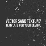 Calibre de texture de sable de vecteur Photographie stock