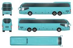 Calibre de vecteur d'autobus Photo libre de droits