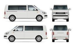 Calibre de vecteur de minibus Photographie stock libre de droits