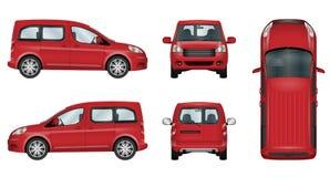 Calibre de vecteur de voiture Photo stock