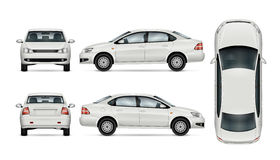 Calibre de vecteur de voiture Photos libres de droits