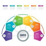 Calibre de Web d'un diagramme, d'un diagramme ou d'une présentation pyramidal partie Photo libre de droits