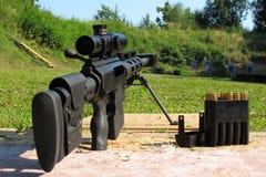 Calibre del rifle de francotirador 50 BMG Imagen de archivo libre de regalías