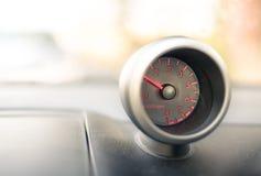 Calibre do painel do veículo - RPM - revoluções pelo minuto imagem de stock
