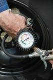 Calibre do pneu Fotografia de Stock