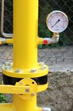 Calibre e tubulações de pressão Fotos de Stock Royalty Free