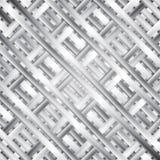 Calibre en acier moderne de texture de vecteur illustration stock