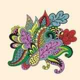 Calibre floral abstrait de fond Images libres de droits
