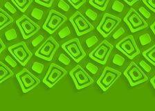 Calibre géométrique vert de fond d'abrégé sur modèle illustration libre de droits