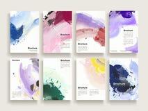 Calibre gracieux de brochure illustration stock