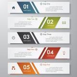 Calibre/graphique propres de bannières de nombre de conception. Vecteur. Photos stock