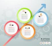 Calibre infographic de concept d'affaires de calibre de conception Photo stock