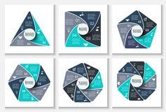 Calibre infographic de conception de vecteur Images stock