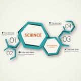 Calibre infographic de la Science illustration de vecteur