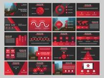 Calibre infographic de présentation de 20 éléments de paquet rapport annuel d'affaires, brochure, tract, insecte de publicité, illustration de vecteur