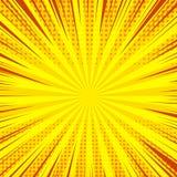 Calibre lumineux de bande dessinée Image libre de droits