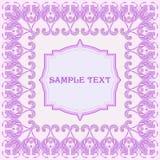 Calibre modelé de cadre pour des cartes de voeux, invitations Images stock