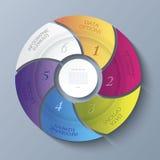 Calibre moderne abstrait pour le projet d'affaires Image libre de droits
