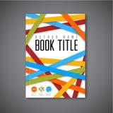 Calibre moderne de conception de brochure d'abrégé sur vecteur Images stock