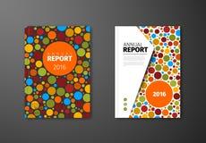 Calibre moderne de conception de brochure d'abrégé sur vecteur Photos libres de droits