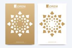 Calibre moderne de vecteur pour la brochure, le tract, l'insecte, l'annonce, la couverture, la magazine ou le rapport annuel  Tai illustration de vecteur