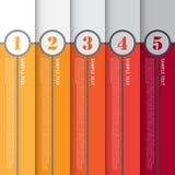 Calibre moderne pour la conception et le travail créatif, vecteur Illustratio Image libre de droits