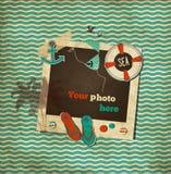 Calibre nautique de chute de vintage Images stock