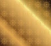 Calibre ornemental de luxe floral de modèle de vecteur d'or de fond Photo stock