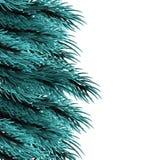 Calibre pelucheux d'arbre de Noël illustration de vecteur