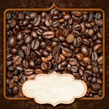 Calibre pour le menu de café Images libres de droits
