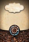 Calibre pour le menu de café Photos libres de droits