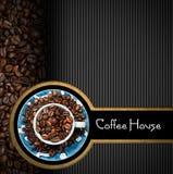 Calibre pour le menu de café Photo libre de droits