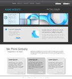 Calibre pour le site Web moderne Photos stock
