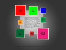 Calibre pour votre présentation d'affaires Photographie stock