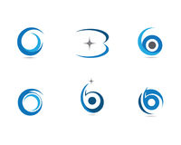 Calibre professionnel de logo de finances d'affaires de lettre de B Photographie stock