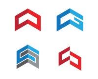 Calibre professionnel de logo de finances d'affaires de lettre de C Photographie stock libre de droits