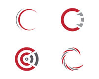 Calibre professionnel de logo de finances d'affaires de lettre de C Photos libres de droits