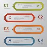 Calibre propre de bannières de nombre de conception. Photographie stock