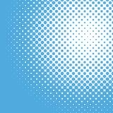 Calibre tramé de fond de modèle de point - graphique de vecteur Image libre de droits