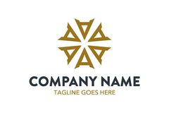 Calibre unique de logo de voyage et d'hôtel Vecteur editable illustration stock