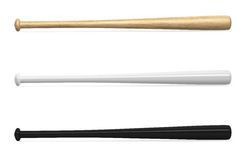 Calibre vide de battes de baseball Images stock