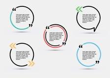 Calibre vide de citation illustration libre de droits