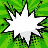 Calibre vide de vert de ballon Images libres de droits