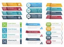 Calibres d'Infographic avec des nombres illustration libre de droits