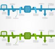 Calibres d'Infographic pour le design d'entreprise Vecteur Image stock