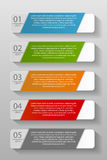 Calibres d'Infographic pour le vecteur d'affaires Photo stock