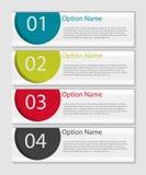 Calibres d'Infographic pour le vecteur d'affaires Images stock