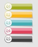 Calibres d'Infographic pour le vecteur d'affaires Photos libres de droits